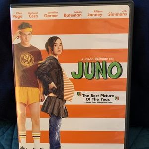 JUNO DVD. Watched 1 time. Very good condition.